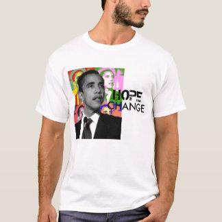 Hoffnung und Änderung Obama T-Shirt