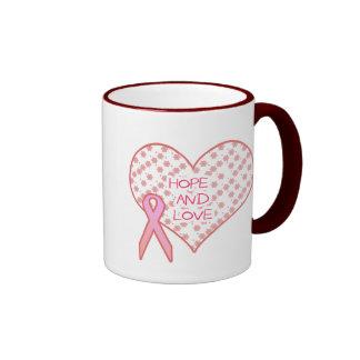 Hoffnung und Liebe Ringer Tasse