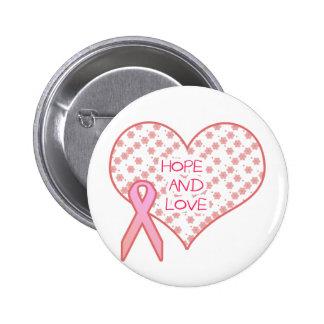 Hoffnung und Liebe Runder Button 5,7 Cm