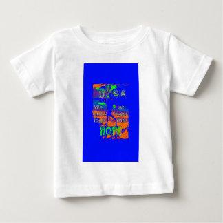 Hoffnung USA Hillary sind wir stärker Baby T-shirt