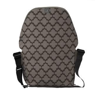 Hoffnungs-Bote-Tasche - graues MED Kuriertasche
