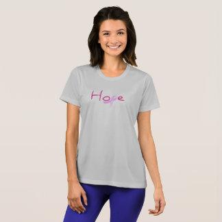 Hoffnungs-Brustkrebs-Bewusstseins-Shirt T-Shirt