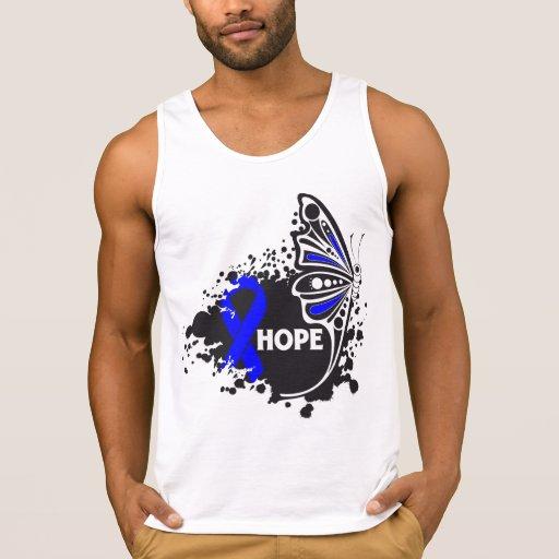 Hoffnungs-Darmkrebs-Schmetterling T Shirts
