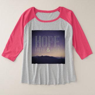 Hoffnungs-Glaube u. Glück plus Shirt