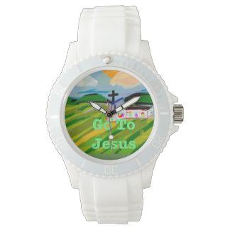 Hoffnungs-heilende Kirche gehen zur Armbanduhr
