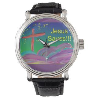 Hoffnungs-heilende Kirche Jesus rettet christliche Uhr