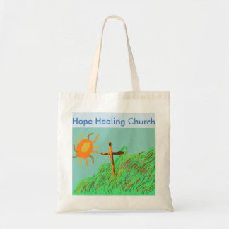 Hoffnungs-heilende Kirchen-christliche Tragetasche