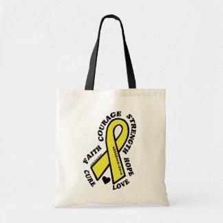Hoffnungs-Liebe-Heilung… Endometriosis Tragetasche