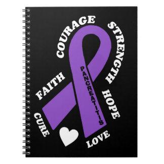 Hoffnungs-Liebe-Heilung… Pancreatitis Notizblock