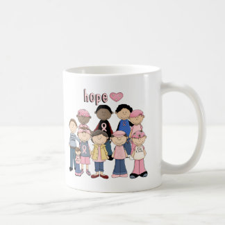 Hoffnungs-rosa Band Tasse