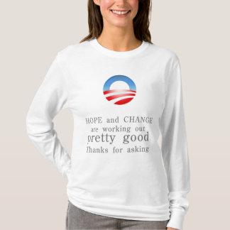 Hoffnungs-und Änderungs-Shirt T-Shirt