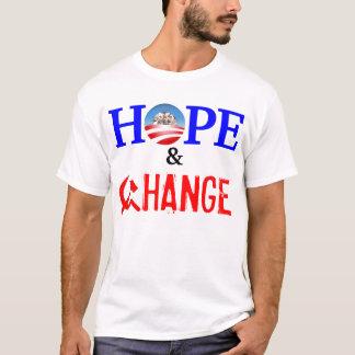 Hoffnungs-und Änderungs-T-Shirt T-Shirt