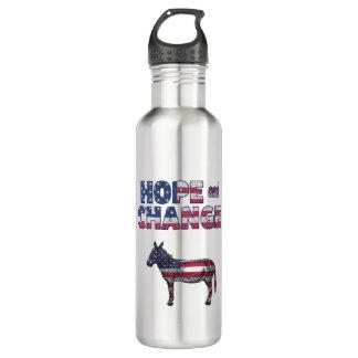 Hoffnungs-und Edelstahlflasche