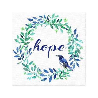 Hoffnungs-Zitat-Zen-Art Leinwanddruck