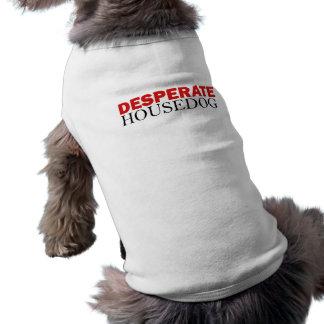 Hoffnungsloses Housedog Ärmelfreies Hunde-Shirt