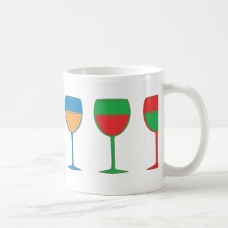 Höflicher Wein Kaffeetasse