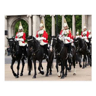 Hofs-Kavallerie, London, England Postkarte
