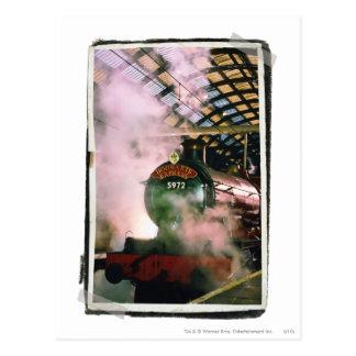 Hogwarts ausdrücklich postkarte