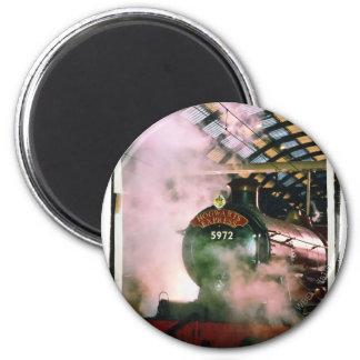 Hogwarts ausdrücklich runder magnet 5,7 cm
