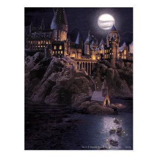 Hogwarts Boote zum sich zurückzuziehen Postkarten