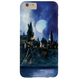Hogwarts durch Mondschein Barely There iPhone 6 Plus Hülle