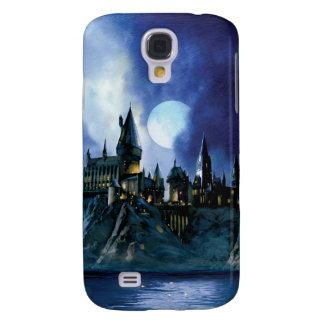 Hogwarts durch Mondschein Galaxy S4 Hülle