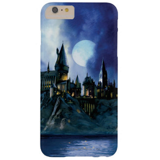Hogwarts durch Mondschein Barely There iPhone 6 Plus Hülle