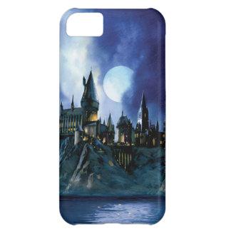 Hogwarts durch Mondschein iPhone 5C Hülle