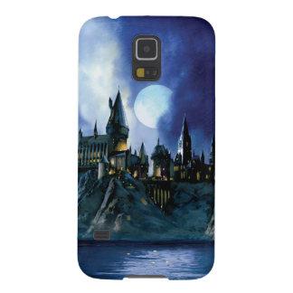 Hogwarts durch Mondschein Samsung Galaxy S5 Hülle
