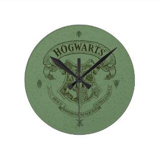 HOGWARTS™ Fahnen-Wappen Wanduhr