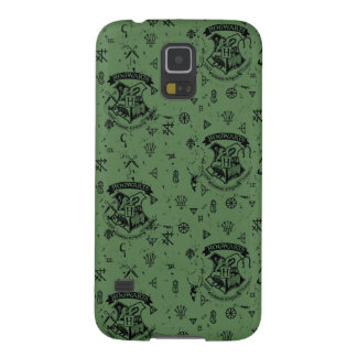 HOGWARTS™ grünes Muster Samsung Galaxy S5 Hülle