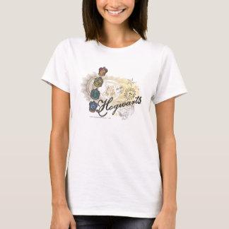 Hogwarts Logo und Profossors 2 T-Shirt