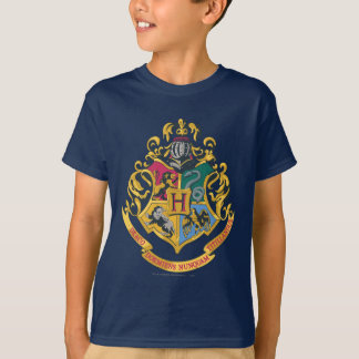 Hogwarts vier Haus-Wappen Shirt