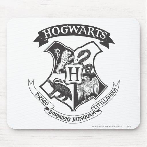 Hogwarts Wappen 2 Mousepads