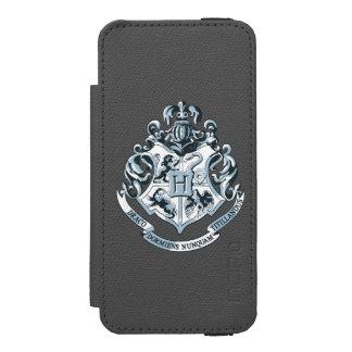 Hogwarts Wappen-Blau Incipio Watson™ iPhone 5 Geldbörsen Hülle