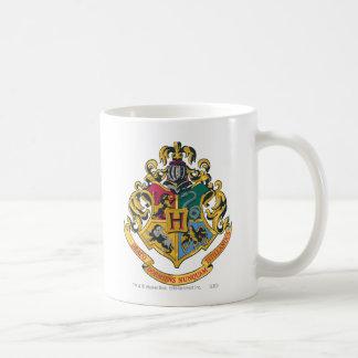 Hogwarts Wappen farbenreich Tasse
