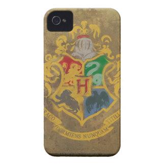 Hogwarts Wappen gemalt iPhone 4 Case-Mate Hülle