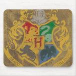 Hogwarts Wappen HPE6 Mauspads