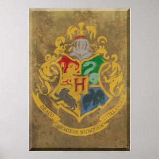 Hogwarts Wappen HPE6 Plakate