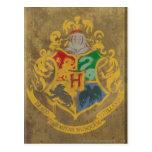 Hogwarts Wappen HPE6 Postkarte
