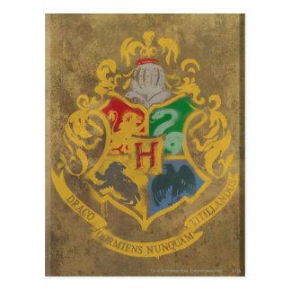 Hogwarts Wappen HPE6 Postkarten
