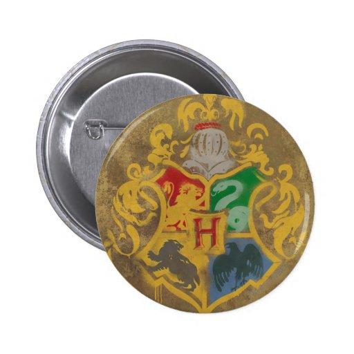 Hogwarts Wappen HPE6 Runder Button 5,7 Cm