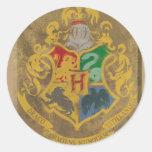 Hogwarts Wappen HPE6 Runder Sticker