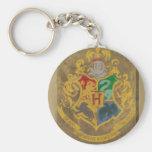 Hogwarts Wappen HPE6 Standard Runder Schlüsselanhänger