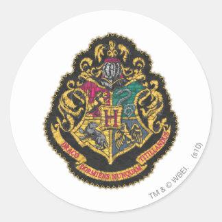 Hogwarts Wappen Runder Aufkleber