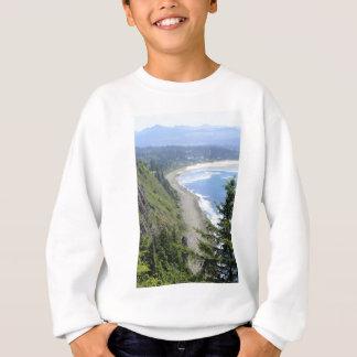 Hohe Ansicht von Oregon-Küste Sweatshirt