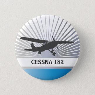 Hohe Flügel-Flugzeuge Runder Button 5,1 Cm