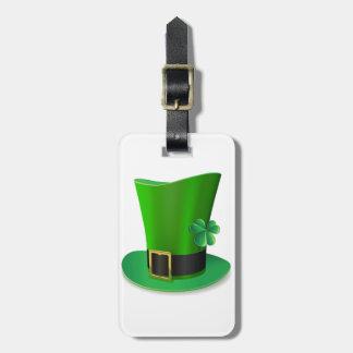 Hohe Hut-Gepäckanhänger St. Patricks Tages Gepäckanhänger