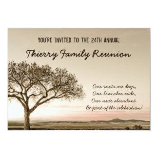 Hohe Land-Familien-Wiedersehen-Einladung Karte