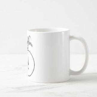 Hohe Rollen-lustiger Vintager Art-Entwurf Kaffeetasse